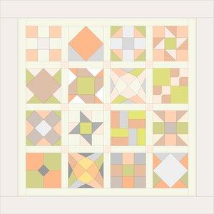 Digitaal patroon voor Sintsje 1 versie 3 voor beginners