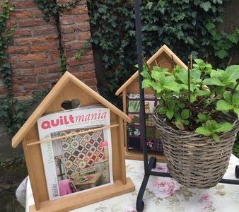 Huisje voor mini quilt