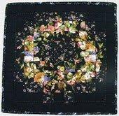 Gratis Patroon Watercolor met rozen quilt