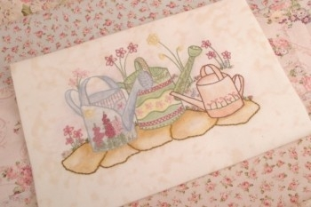 Maand 4 patroon voor English Country Garden Quilt