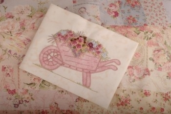 Maand 2 patroon voor English Country Garden Quilt