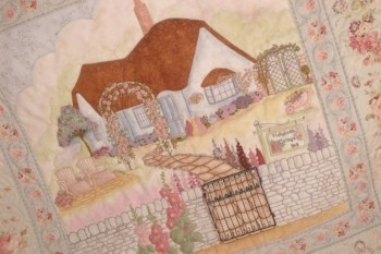 Maand 14 patroon voor English Country Garden Quilt