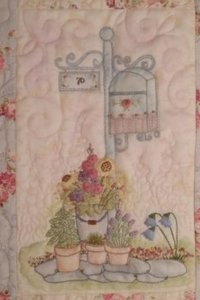 Maand 12 patroon voor English Country Garden Quilt