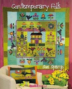 Stof pakket voor Sue Spargo's Magnolia quilt, nu beschikbaar