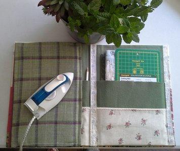 Kartonnage kit voor Quiltmap met strijk kussen