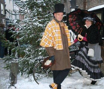 Patroon kerstmannen Nederlands