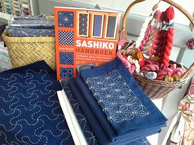 Workshop Sashiko dinsdagochtend 23 oktober