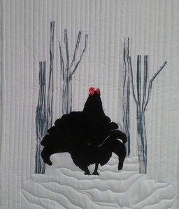 Kit Korhoen, naar een foto van Angus Thomson