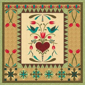 Patroon After Eden 2 design by Maggie Bee Quilts