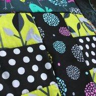 Kit SenI voor Schering en Inslag quilt, een klassieker met eigentijdse stoffen