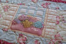 Maand 8 patroon voor English Country Garden Quilt