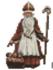 Sint Nicolaas in kruissteekjes_