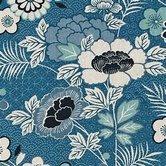 Indigo-Floral-Montage-Linen-Coton