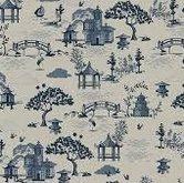 Indigo-Scene-Linen-Coton