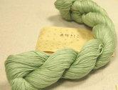 Sashiko-garen-145-meter-kleur-Off-white-groen