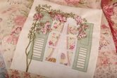 Maand-3-THe-Rose-Window-patroon-voor-English-Country-Garden-Quilt