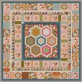 Deel-1-Stof-voor-Brinton-Hall-Quilt-uit-Quiltmania-107-en-108-met-1-inch-hexagonnen