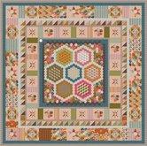 Deel-4-Stof-voor-Brinton-Hall-Quilt-uit-Quiltmania-107-en-108-met-1-inch-hexagonnen