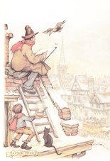 Anton-Pieck-borduren-Anton-Pieck-het-dak-op-maand-5-afmeting-214-x-14-cm