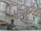 Anton-Pieck-borduren-Utrechtse-gracht-8-afmeting-355-x-267-cm