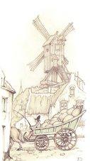 Anton-Pieck-borduren-Windmolen-maand-9-afmeting-288-x-177-cm